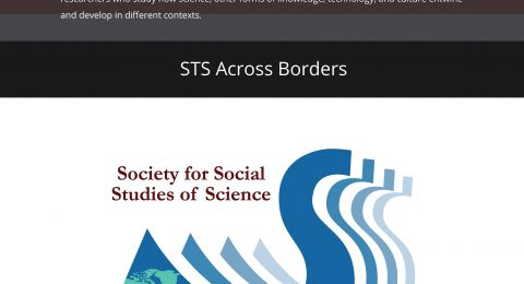 STS Across Borders Cover Poster