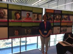 """Angela Okune with iHub and STS in """"Africa"""" exhibits"""