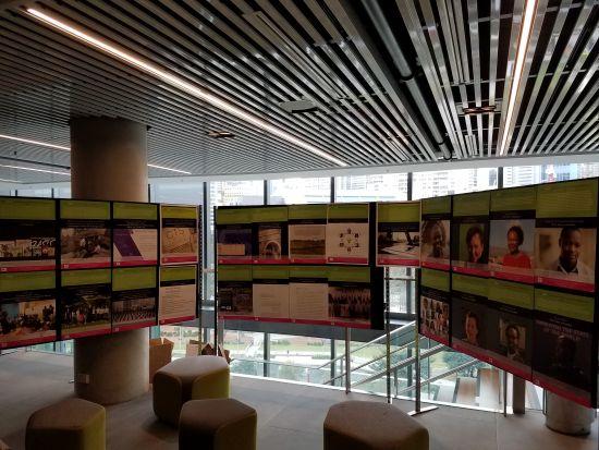 Reorganized Gallery Exhibit