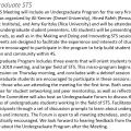 4S 2019 program page showing undergraduate STS program